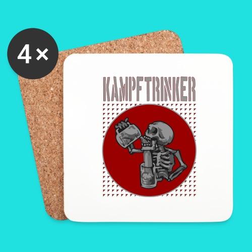 Kampftrinker - Untersetzer (4er-Set)
