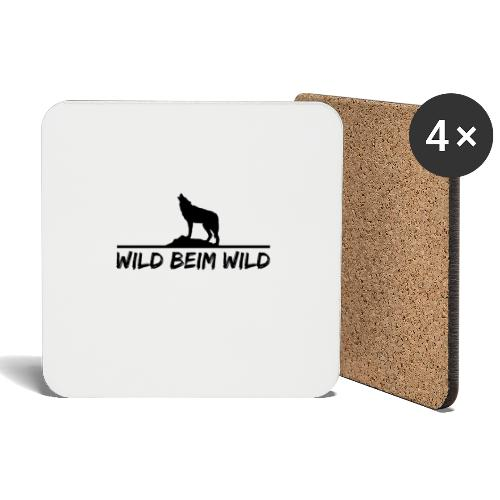 Wild beim Wild - Untersetzer (4er-Set)