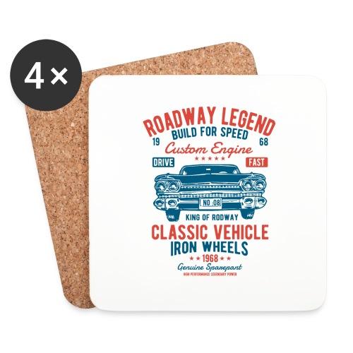 Roadway Legend - Onderzetters (4 stuks)