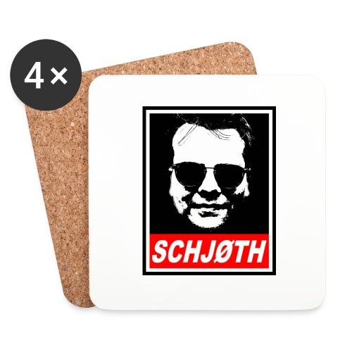 SCHJØTH - Glasbrikker (sæt med 4 stk.)