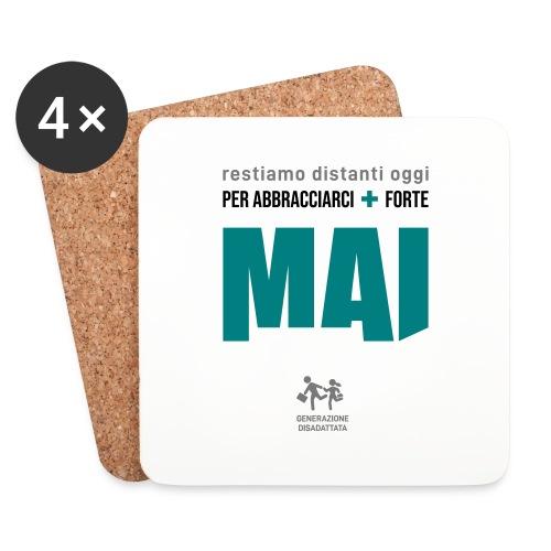 a(e)ffetto DPCM - Sottobicchieri (set da 4 pezzi)