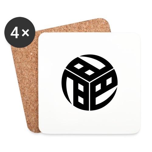 Mitsudomoe Symbol (stylisiert) - Untersetzer (4er-Set)