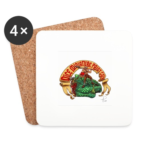 DiceMiniaturePaintGuy - Coasters (set of 4)