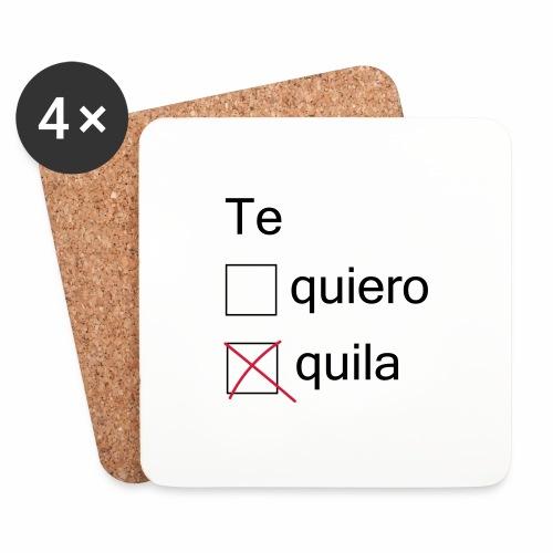 tequila - Dessous de verre (lot de 4)