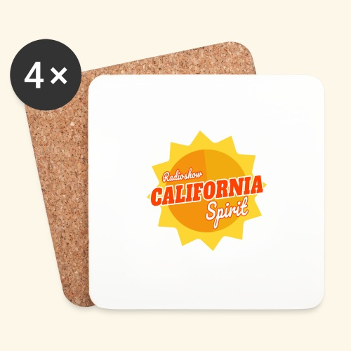 California Spirit Radioshow - Dessous de verre (lot de 4)