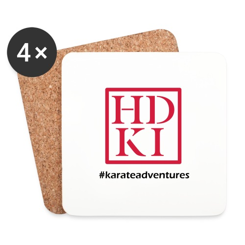 HDKI karateadventures - Coasters (set of 4)