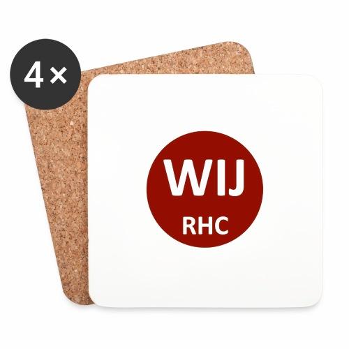 WIJ RHC - Onderzetters (4 stuks)