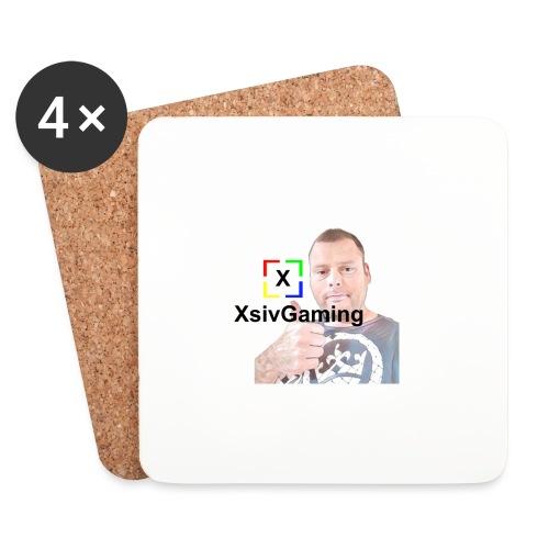 xsivgaming face - Coasters (set of 4)