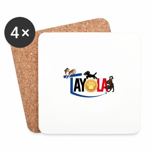 TAYOLA logo 2019 HD - Dessous de verre (lot de 4)