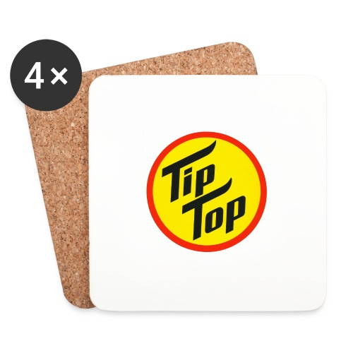Tip Top Skiwachs - Untersetzer (4er-Set)