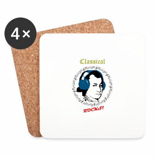 Classical Rocks! - Coasters (set of 4)