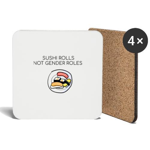 Sushi design - Sottobicchieri (set da 4 pezzi)