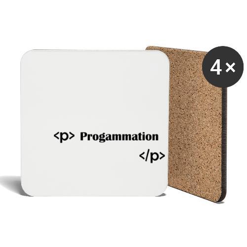 Programmation - Dessous de verre (lot de 4)