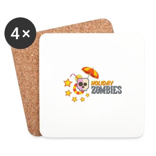 Holiday Zombies Logo - Posavasos (juego de 4)