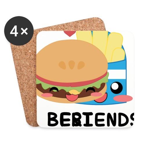 hamburger - Sottobicchieri (set da 4 pezzi)
