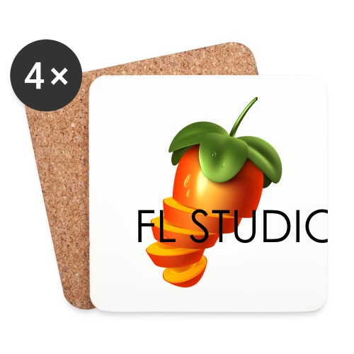 Sliced Sweaty Fruit - Coasters (set of 4)
