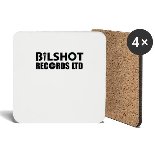 bilshot records white jpg - Coasters (set of 4)