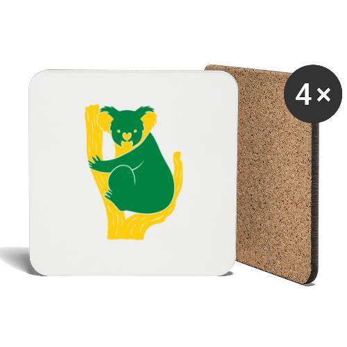 koala tree - Coasters (set of 4)