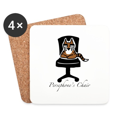 Persephone's Chair - Coasters (set of 4)