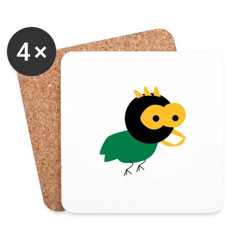 lintu-eps - Lasinalustat (4 kpl:n setti)