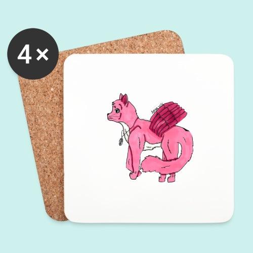 pink_cat - Lasinalustat (4 kpl:n setti)