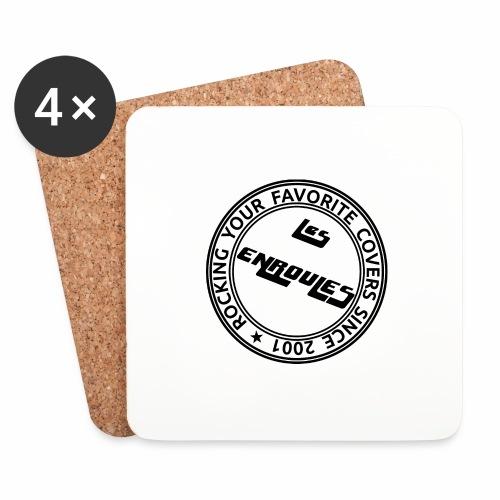 Badge - Dessous de verre (lot de 4)