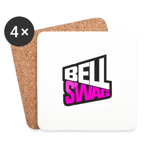 Bellswag logo transparent large - Coasters (set of 4)