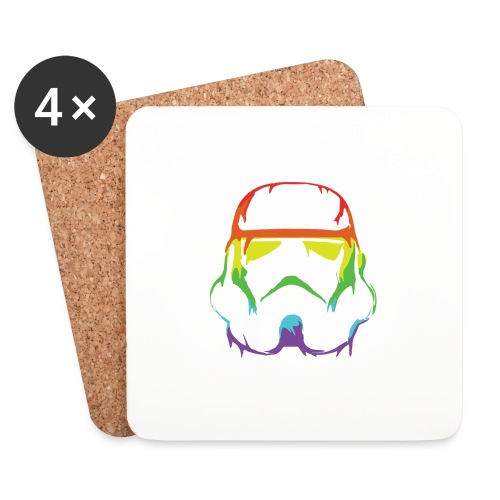Pride Trooper - simple - Lasinalustat (4 kpl:n setti)