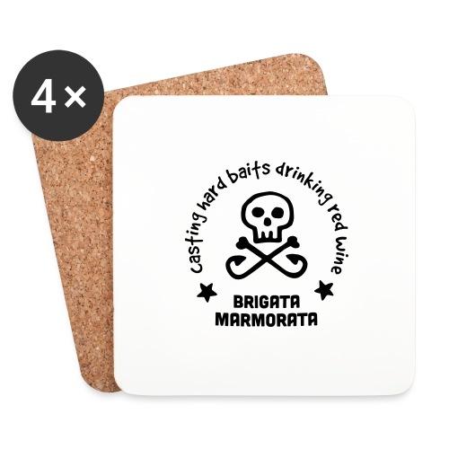 Brigata Marmorata - Sottobicchieri (set da 4 pezzi)