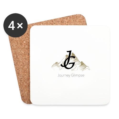 Journey Glimpse - Logo ohne Kreis - Untersetzer (4er-Set)