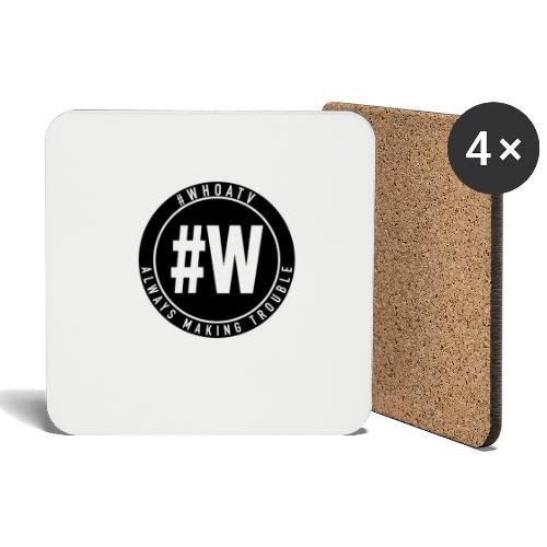 WHOA TV - Coasters (set of 4)