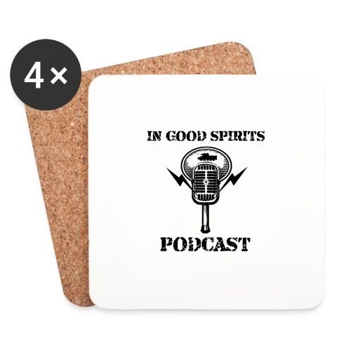 In Good Spirits Podcast - Coasters (set of 4)