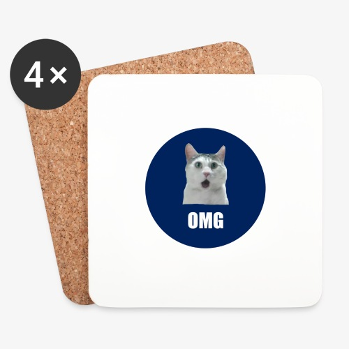 OMG - Coasters (set of 4)