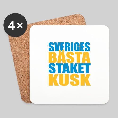 Sveriges bästa staketkusk! - Underlägg (4-pack)