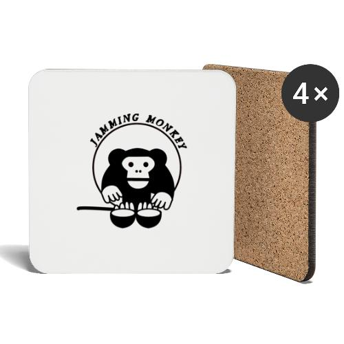 Jamming Monkey - Dessous de verre (lot de 4)