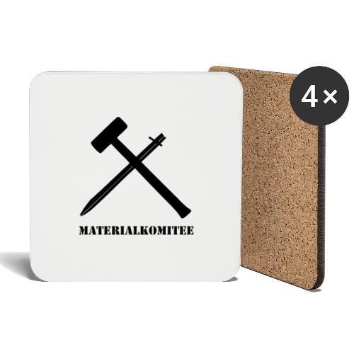 Materialkomitee - Untersetzer (4er-Set)