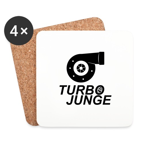 Turbojunge! - Untersetzer (4er-Set)