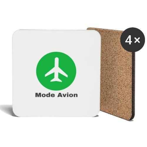 Mode Avion - Dessous de verre (lot de 4)