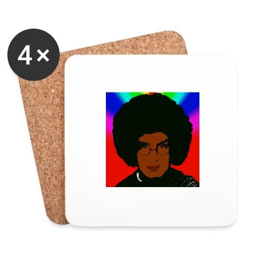 afro1 - Untersetzer (4er-Set)