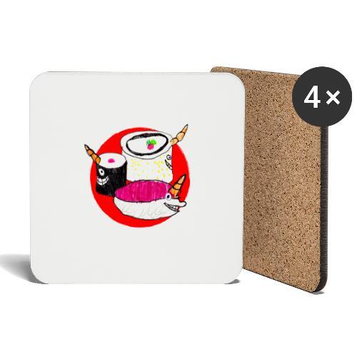 Unicorn Sushi - Coasters (set of 4)
