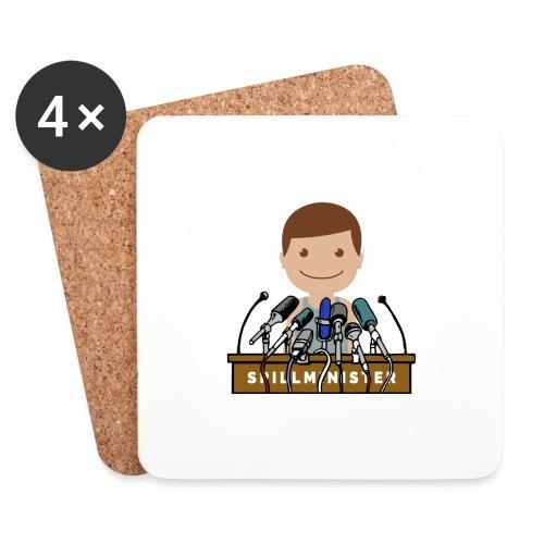 Spillminister logoen - Brikker (sett med 4)