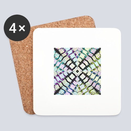 aBSTRAWIATURA 2 - Coasters (set of 4)