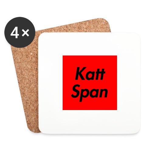Katt Span - Coasters (set of 4)