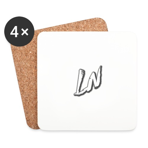 Linda Newby Logo - Coasters (set of 4)