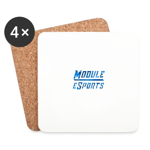 Module Text Logo - Coasters (set of 4)