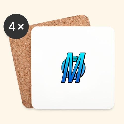 MirBlue - Lasinalustat (4 kpl:n setti)