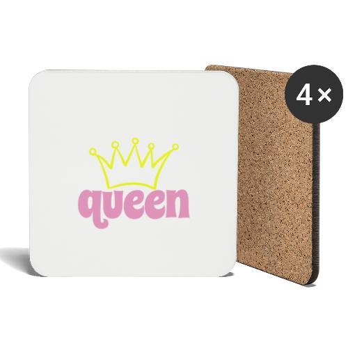 queen - Untersetzer (4er-Set)