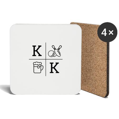 KCKT_LOGO_GROß - Untersetzer (4er-Set)