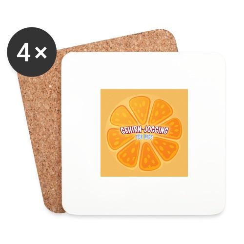orangetextur - Untersetzer (4er-Set)
