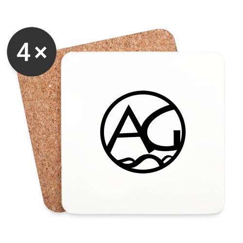 AG - Lasinalustat (4 kpl:n setti)